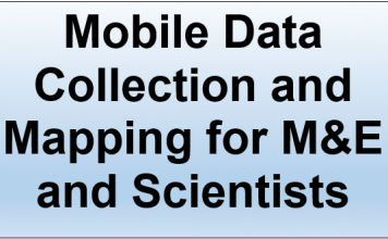 training-course-in-mobile-data-collection-and-mapping-for-m&e and scientists-t4d.