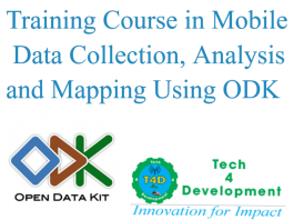 ODK Training Course Kenya by T4D
